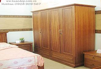Tủ quần áo gỗ tự nhiên 10