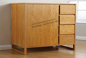 Tủ quần áo gỗ tự nhiên 13